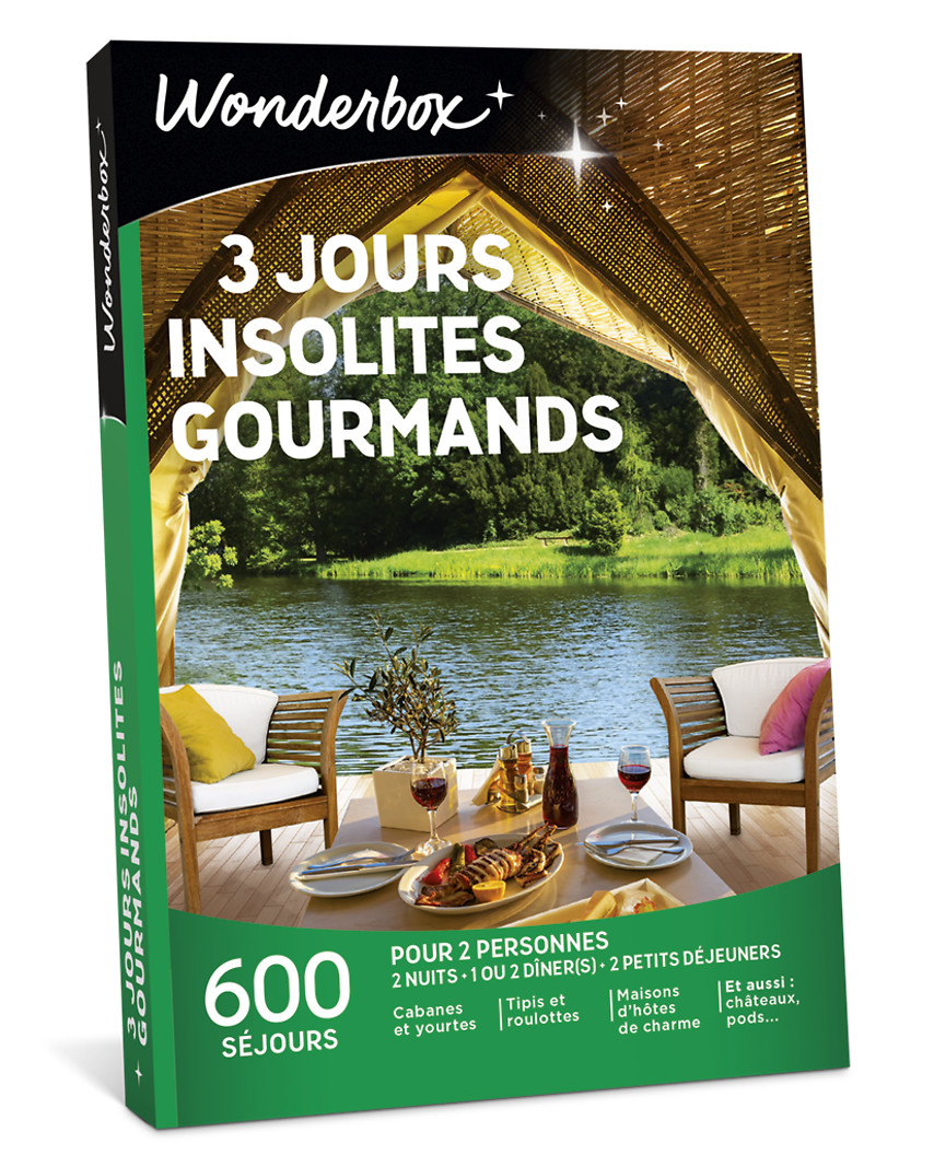 3 jours insolites gourmands