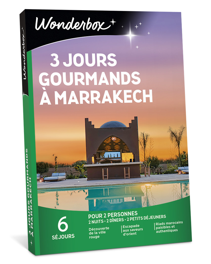 3 jours gourmands à Marrakech