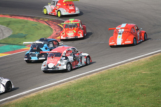 Passager d'un pilote de championnat en VW Fun Cup - circuit de Chenevières (France) - photo 2