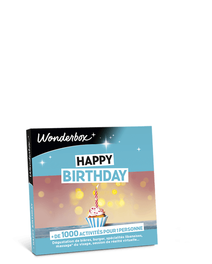 Coffret cadeauHappy Birthday