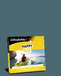 Coffret Cadeau Happy Day Wonderbox