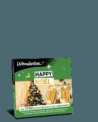 Coffret cadeau joyeux noël wonderbox