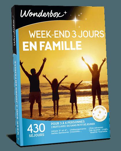 Box Famille 3 Jours En Famille Coffret Cadeau Wonderbox