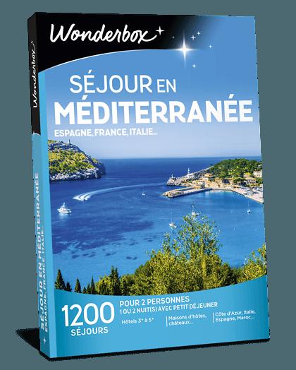 Coffret Cadeau Sejour En Mediterranee Wonderbox