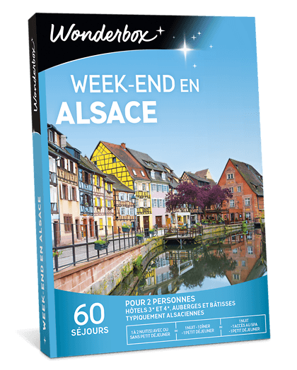 Coffret Cadeau Week End En Alsace Wonderbox