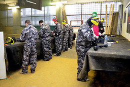 Paintball pour deux - Colorball - Gilly (Hainaut)