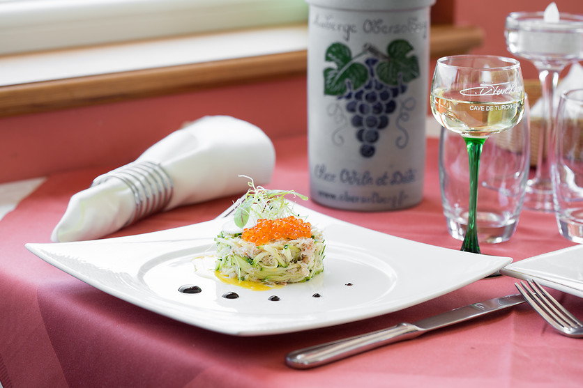 S jour pour 2 l 39 auberge obersolberg eschbach au val for Wonderbox cuisine