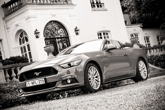 Tour en Ford Mustang - Body Drive Experience - Montigny Le Tilleul (Hainaut) - photo 0