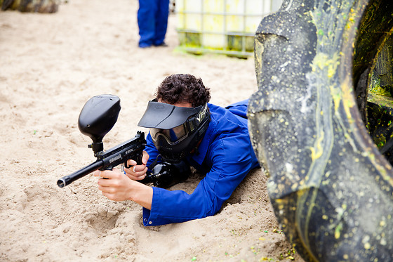 Paintball pour deux - Paintball Strand - Ermelo (Pays-Bas) - photo 0