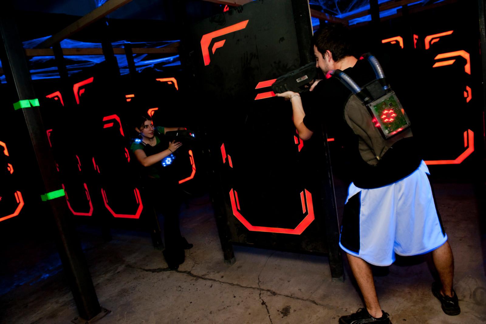 Parties de laser game pour 2 Laser Game Evolution