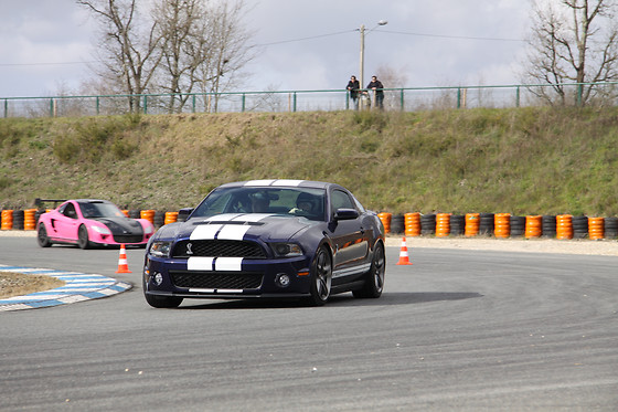 Pilotage d'une Mustang Shelby GT500 - Sprint Racing - Circuit de Nogaro (32) - photo 0