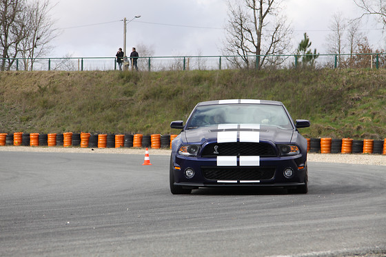 Pilotage d'une Mustang Shelby GT500 - Sprint Racing - Circuit de Nogaro (32) - photo 1