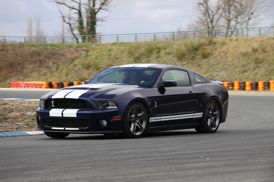 Pilotage d'une Mustang Shelby GT500 - Sprint Racing - Circuit de Nogaro (32) - photo 2