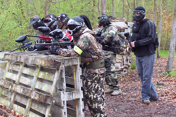 Session de paintball - Paintball Ourcadia - Crouy sur Ourcq (77) - photo 2