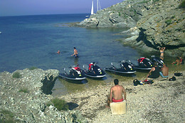 Session de flyboard - Audemar jetski - Hyères (83)