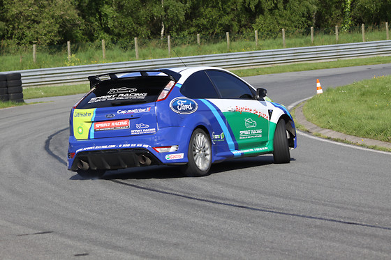 Baptême passager en Ford Focus - J-Cap Organisation - Circuit de Lohéac (35) - photo 0