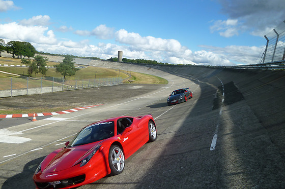 Pilotage d'une Ferrari F430 ou 458 Italia - Pole Position - Circuit de Reims-Juvincourt (02) - photo 12