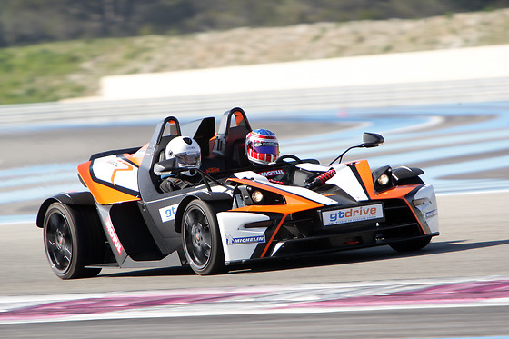 Baptême passager en KTM XBOW-R - GT Drive - Circuit du Grand Sambuc (13) - photo 2