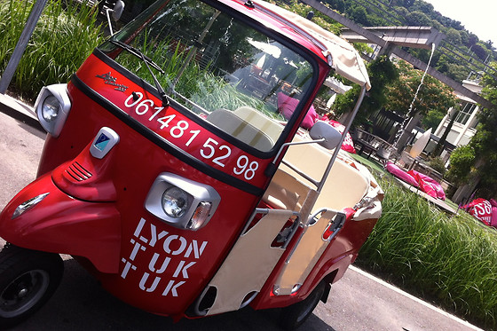 Lyon TukTuk - photo 1