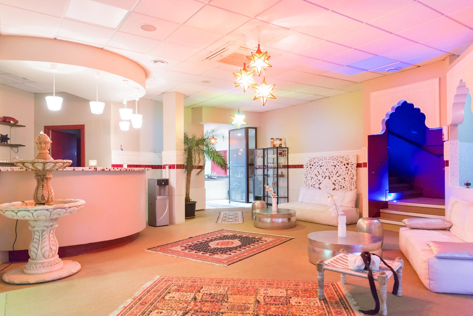 forfait d tente pour 2 au hammam les mille et une nuits paris 75 wonderbox. Black Bedroom Furniture Sets. Home Design Ideas