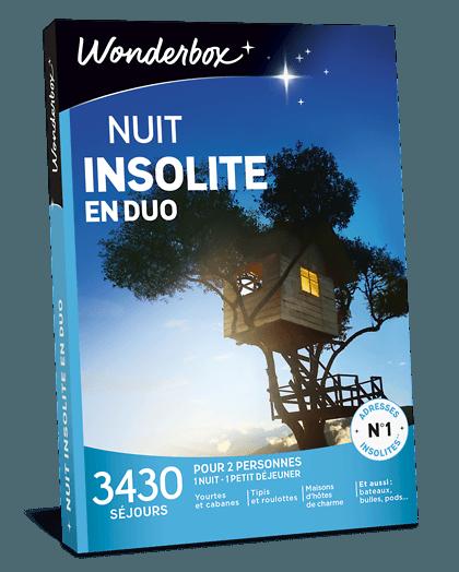 Coffret CadeauNuit Insolite En Duo