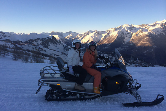 Balade en moto-neige pour 2 - Auron Motoneige Events - Auron (06) - photo 4