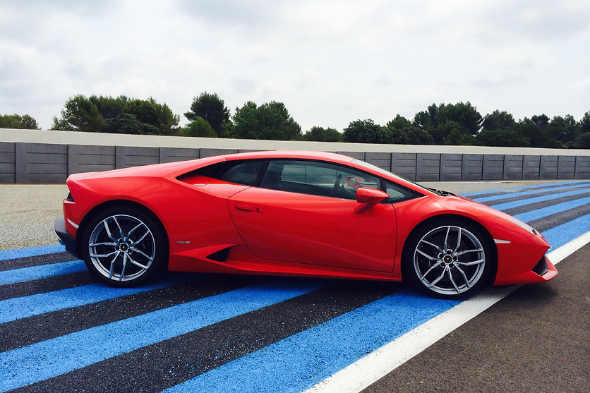 Pilotage d'une Lamborghini Huracan - GT Drive - Circuit Paul Ricard Driving Center (83) - photo 1