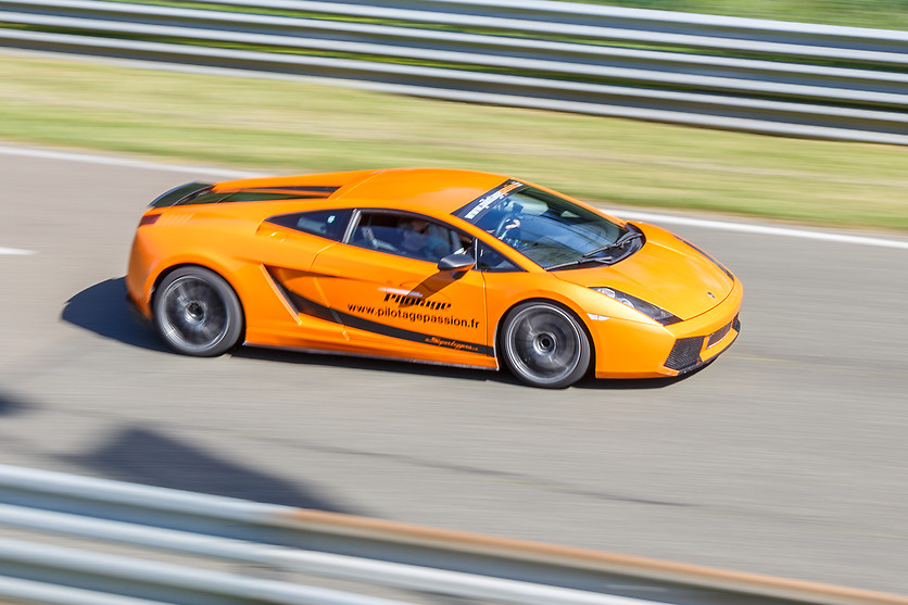 Pilotage de la Lamborghini Gallardo - Sprint Racing - Circuit de Folembray (02) - photo 5