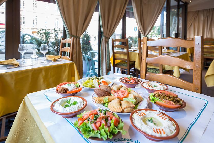 Repas Pour 2 Chez Les Cèdres Du Liban à Paris 75 Wonderbox