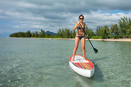 Descente en stand-up paddle pour 2 - Ceze Canoës - Goudargues (30)