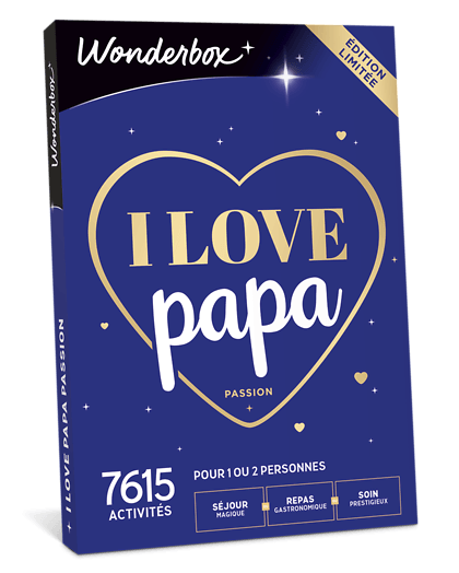 Coffret cadeauI love Papa Passion
