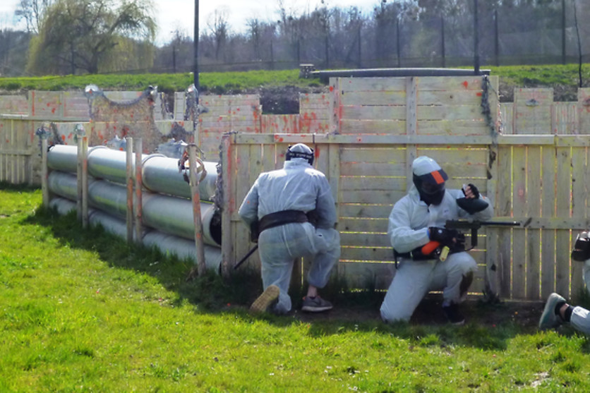 Session de paintball - Paradise Paintball - Mareuil-les-Meaux (77) - photo 13