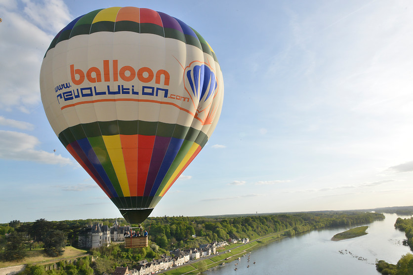Vol en montgolfière - Balloon revolution - Amboise (37) - photo 5