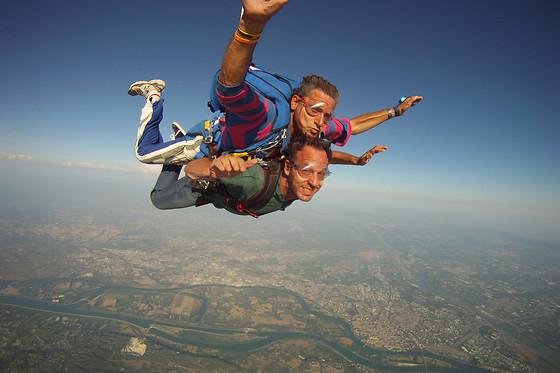 saut en parachute 120 kg