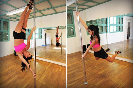 pole dance a nice